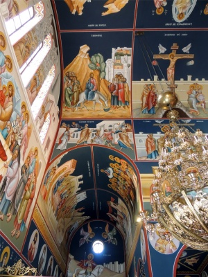 Central depictions of the holy temple