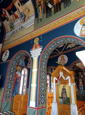 Internal view-arches of the holy Temple