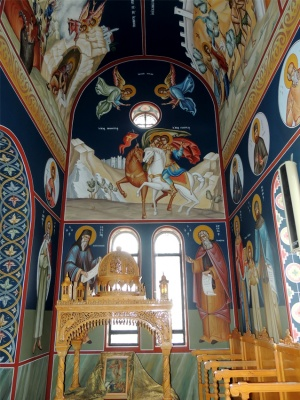 Depictions in the Pronaos of the holy Temple