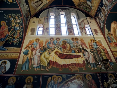 West wall of the Holy temple-Dormition of the Mother of God