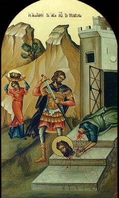 St. Ioannis Prodromos -egg tempera-