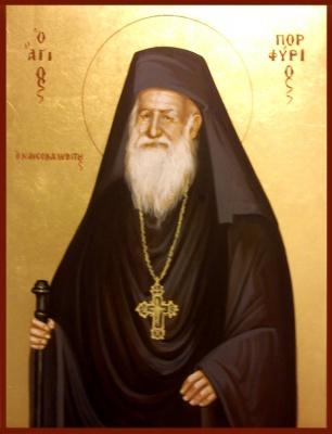 St. Antonios -egg tempera-
