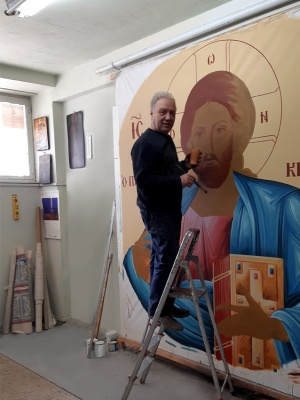 Pantocrator initial stage