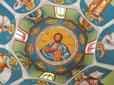 Dome of the holy temple