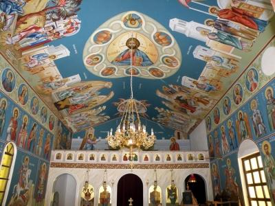 Οροφή ιερού ναού