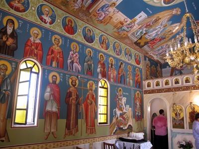 Βόρειος τοίχος ιερού ναού