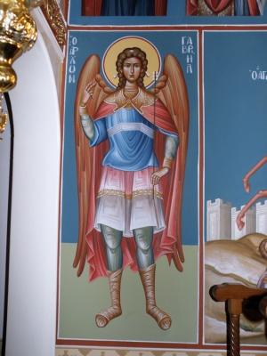 Τοιχογραφία Αρχάγγελος Γαβριήλ